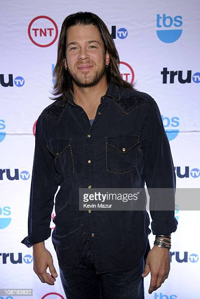 Actor Christian Kane attends the 2008 Turner Upfront at Manhattan Center Studios in Hammerstein Ballroom on May 14 2008 in New York City 16109_0085JPG