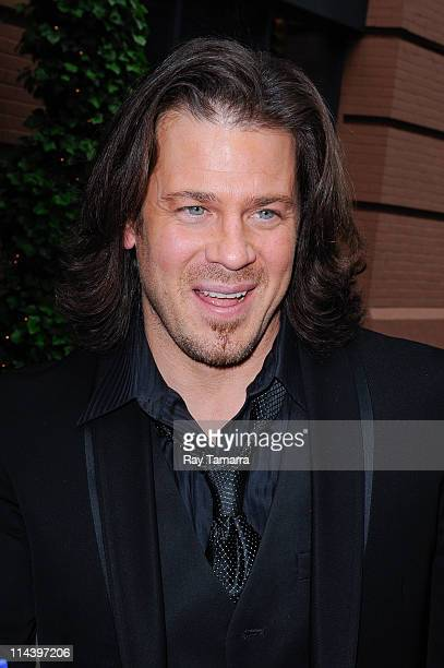 Actor Christian Kane enters Del Posto on May 18 2011 in New York City