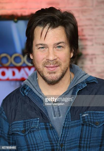 Actor Christian Kane visits Hollywood Today Live at W Hollywood on December 5 2016 in Hollywood California