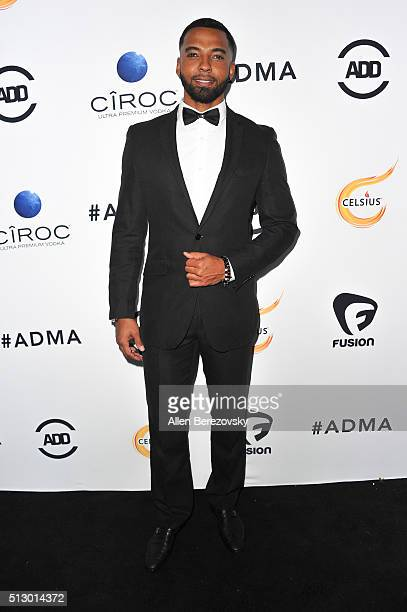 Actor Christian Keyes attends the All Def Movie Awards at Lure Nightclub on February 24 2016 in Los Angeles California
