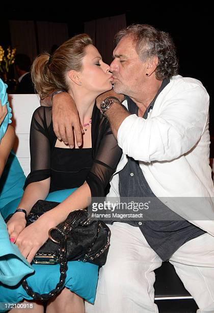 Actor Christian Kohlund and his daughter Francesca attend Movie MEETS MEDIA Party during the Munich Film Festival 2013 at P1 on July 1 2013 in Munich...