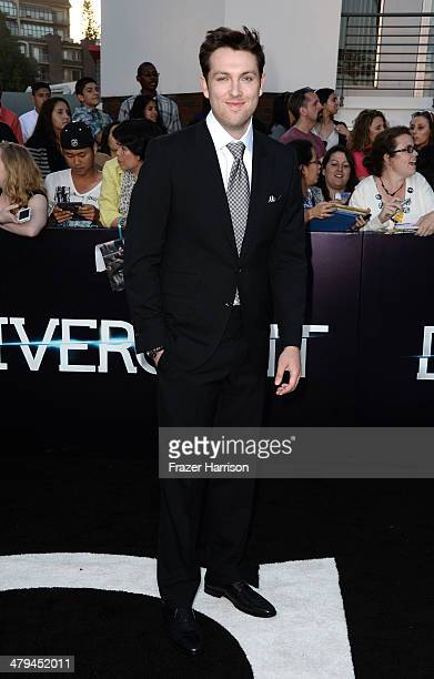 Actor Christian Madsen arrives at the premiere of Summit Entertainment's Divergent at the Regency Bruin Theatre on March 18 2014 in Los Angeles...