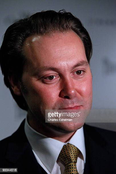 """Actor Christian McKay attends a screening of """"Me And Orson Welles"""" hosted by the Cinema Society, Screenvision and Brooks Brothers at Clearview..."""