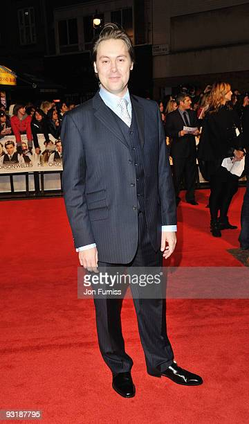 Actor Christian McKay attends the 'Me & Orson Welles' UK Premiere at the Vue West End on November 18, 2009 in London, England.