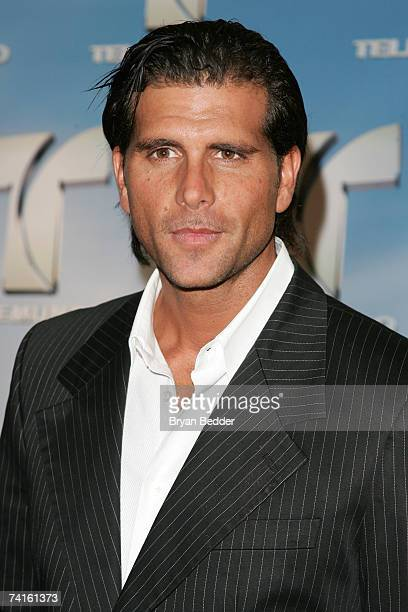 Actor Christian Meier arrives at the Telemundo 2007 Upfront presentation at Radio City Music Hall May 15 2007 in New York City