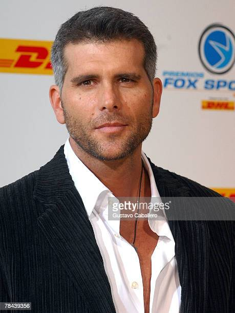 Actor Christian Meier poses at the 5th Annual Premios Fox Sports Awards at the Fillmore Miami Beach at Jackie Gleason Theater December 12 2007 in...