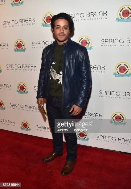 Actor Christian Navarro attends City Year Los Angeles Spring Break on May 6 2017 in Los Angeles California
