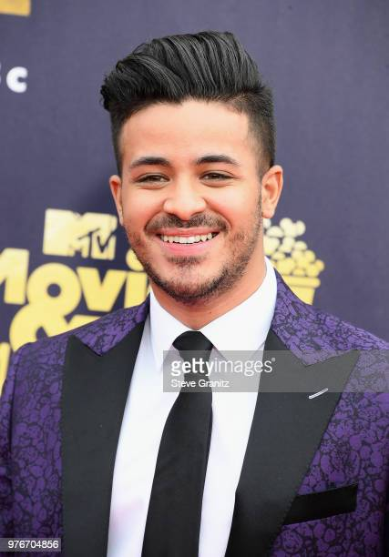 Actor Christian Navarro attends the 2018 MTV Movie And TV Awards at Barker Hangar on June 16 2018 in Santa Monica California