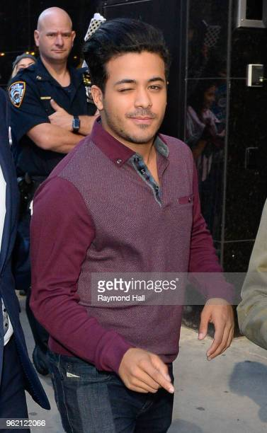 Actor Christian Navarro is seen outside 'Good Morning America' on May 24 2018 in New York City