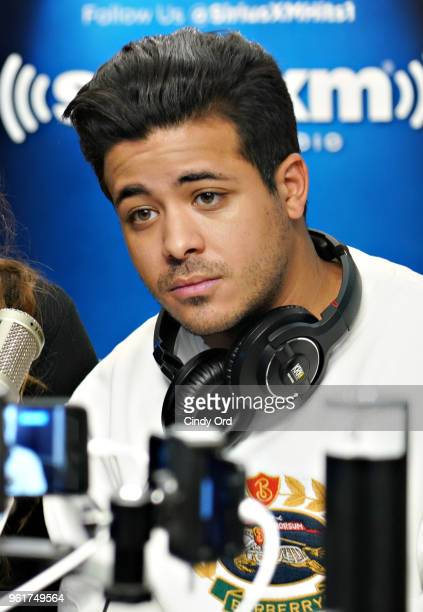 Actor Christian Navarro visits the SiriusXM Morning Mash Up at the SiriusXM Studios on May 23 2018 in New York City