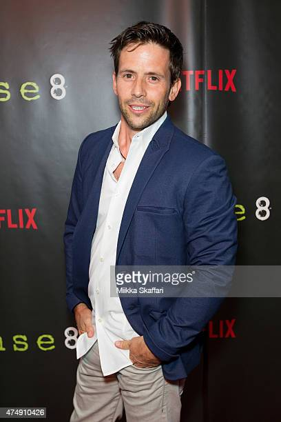 Actor Christian Oliver arrives at the Premiere of Sense8 at AMC Metreon 16 on May 27 2015 in San Francisco California