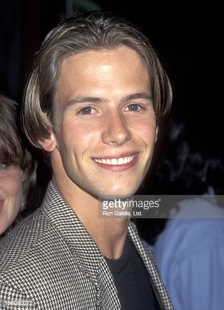 Actor Christian Oliver attends the 'Mortal Kombat' Hollywood Premiere on August 16, 1995 at Mann's Chinese Theatre in Hollywood, California.