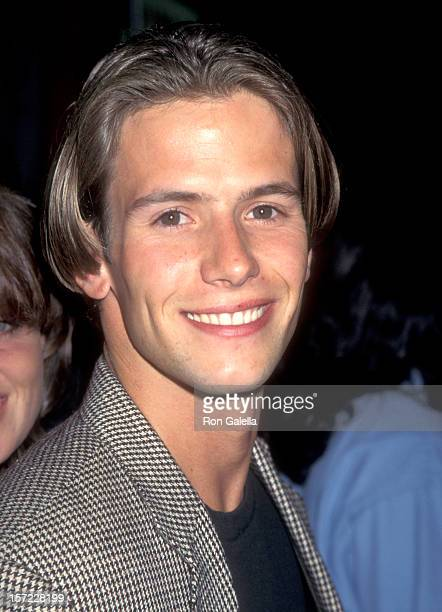 """Actor Christian Oliver attends the """"Mortal Kombat"""" Hollywood Premiere on August 16, 1995 at Mann's Chinese Theatre in Hollywood, California."""