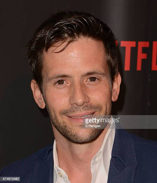 Actor Christian Oliver attends the Premiere Of Netflix's Sense8 at AMC Metreon 16 on May 27 2015 in San Francisco California