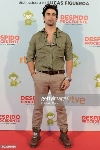 Actor Christian Sanchez attends the 'Despido procedente' photocall at Callao cinema on June 29 2017 in Madrid Spain