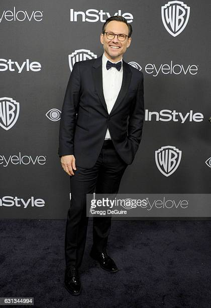 Actor Christian Slater arrives at the 18th Annual PostGolden Globes Party hosted by Warner Bros Pictures and InStyle at The Beverly Hilton Hotel on...