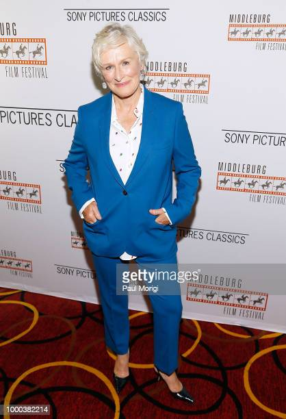 Actor Christian Slater attends a Middleburg Film Festival and Sony Pictures Classics special screening of 'The Wife' at AMC Loews Georgetown Theater...