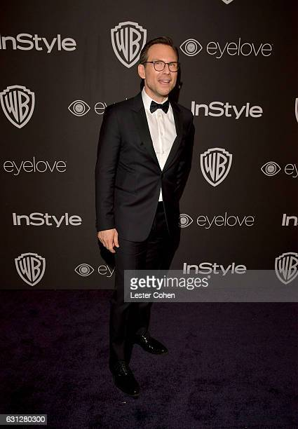 Actor Christian Slater attends the 18th Annual Post-Golden Globes Party hosted by Warner Bros. Pictures and InStyle at The Beverly Hilton Hotel on...