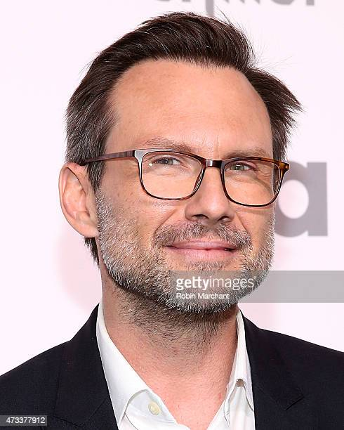 Actor Christian Slater attends the 2015 NBCUniversal Cable Entertainment Upfront at The Jacob K Javits Convention Center on May 14 2015 in New York...