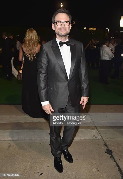 Actor Christian Slater attends the 68th Annual Primetime Emmy Awards Governors Ball at Microsoft Theater on September 18, 2016 in Los Angeles,...