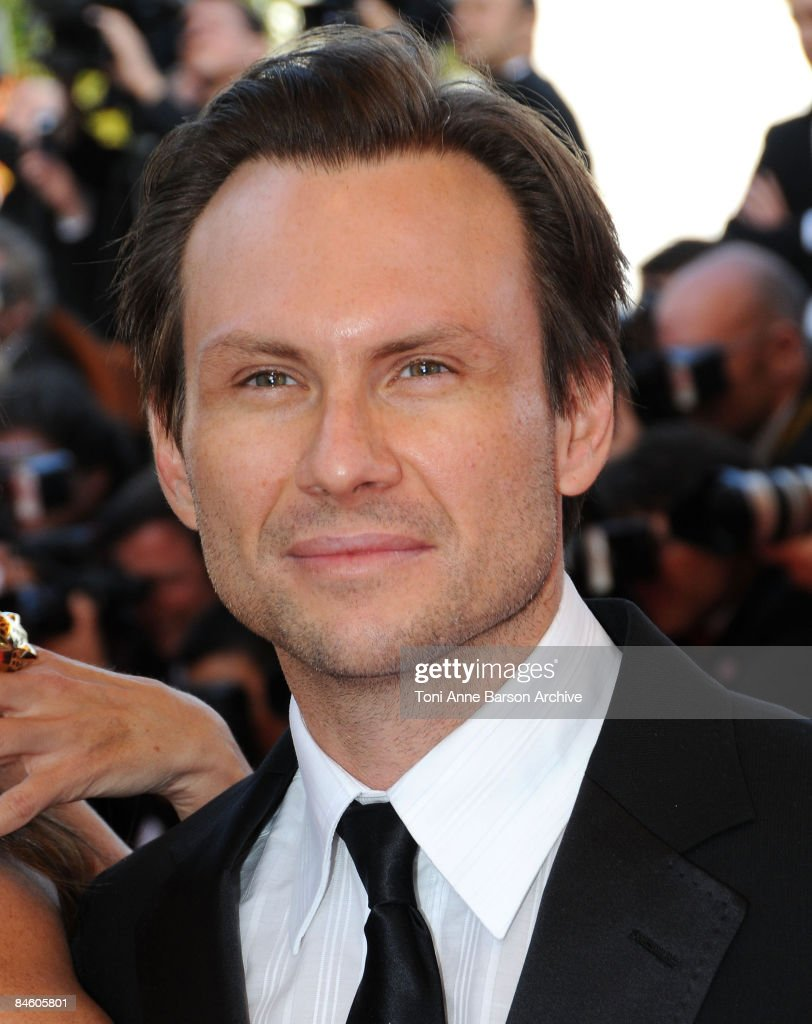 Actor Christian Slater attends the Indiana Jones and the