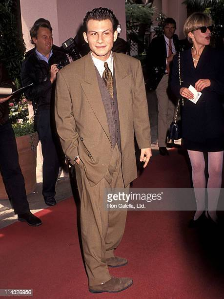 Actor Christian Slater attends the Sixth Annual IFP/West Independent Spirt Awards on March 23 1991 at Beverly Hills Hotel in Beverly Hills California