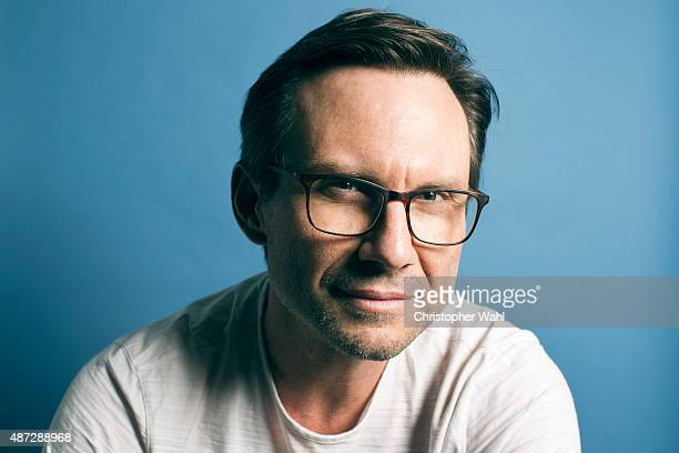 Actor Christian Slater from USA's 'Mr Robot' is photographer for The Globe and Mail on September 1 2015 in Toronto Ontario PUBLISHED IMAGE