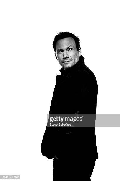 Actor Christian Slater is photographed for Emmy magazine on January 12 2016 in Los Angeles California