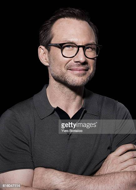 Actor Christian Slater is photographed for Self Assignment on July 1 2016 in San Diego CA