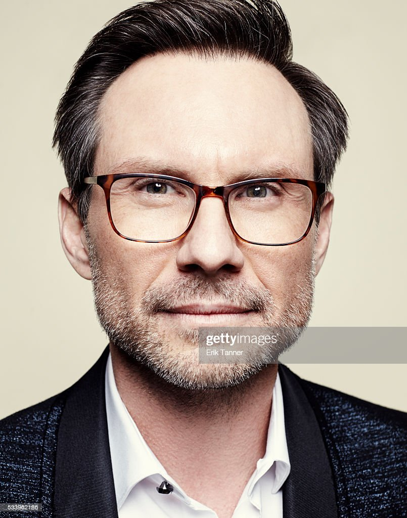 Actor Christian Slater poses for a portrait at the 75th Annual Peabody Awards Ceremony at Cipriani, Wall Street on May 21, 2016 in New York City.