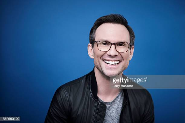 Actor Christian Slater poses for a portrait at the Tribeca Film Festival on April 16 2016 in New York City