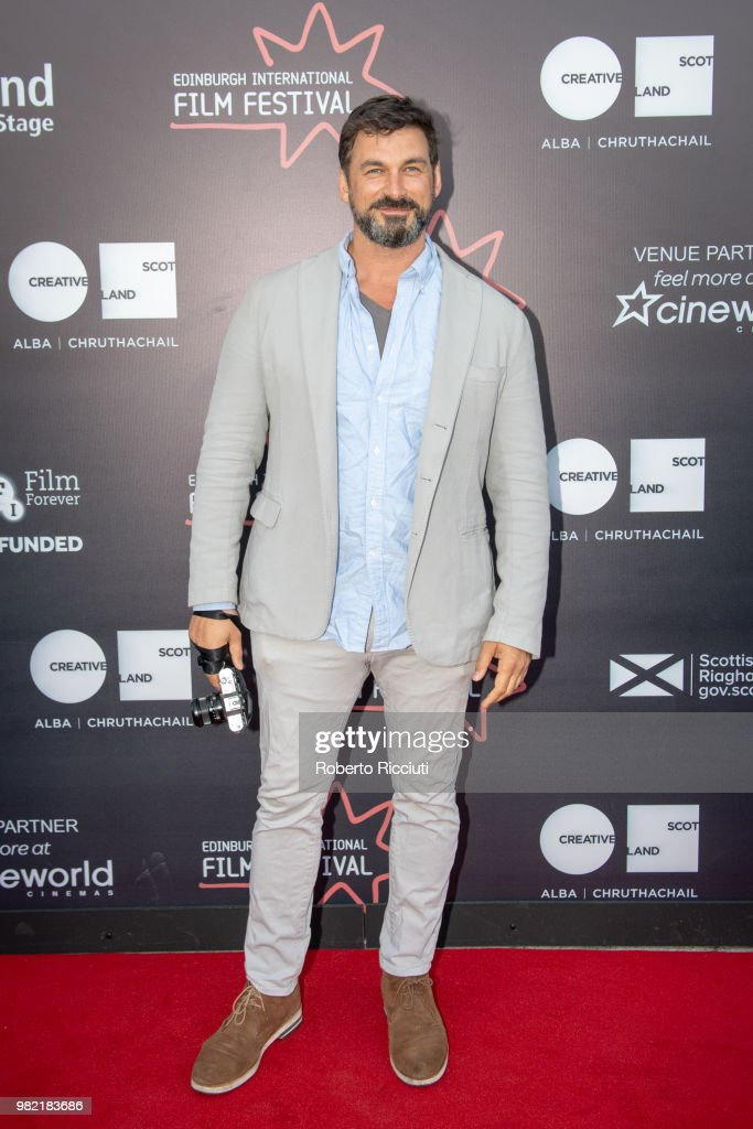 Actor Christian Solimeno attends a photocall for the World Premiere of 'Lucid' during the 72nd Edinburgh International Film Festival at Cineworld on June 23, 2018 in Edinburgh, Scotland.