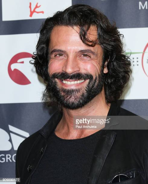 Actor Christian Vit attends the 13th Annual LA Italia Fest closing night gala at TCL Chinese 6 Theatres on March 2 2018 in Hollywood California