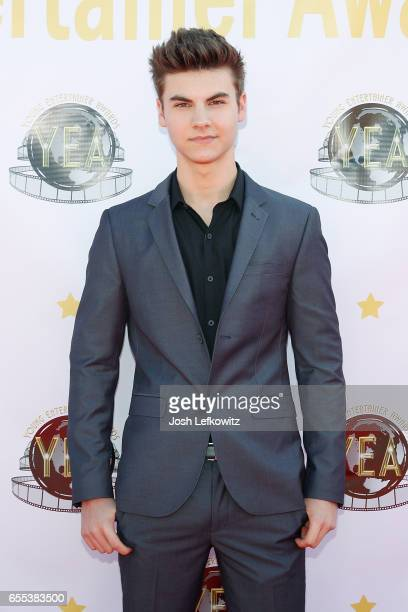 Actor Christian Weissmann attends the 2nd Annual Young Entertainer Awards at the Globe Theatre on March 19 2017 in Universal City California