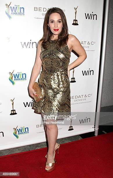Actor Christina DeRosa arrives at The Annual Women's Image Awards at Santa Monica Bay Woman's Club on December 11, 2013 in Santa Monica, California.