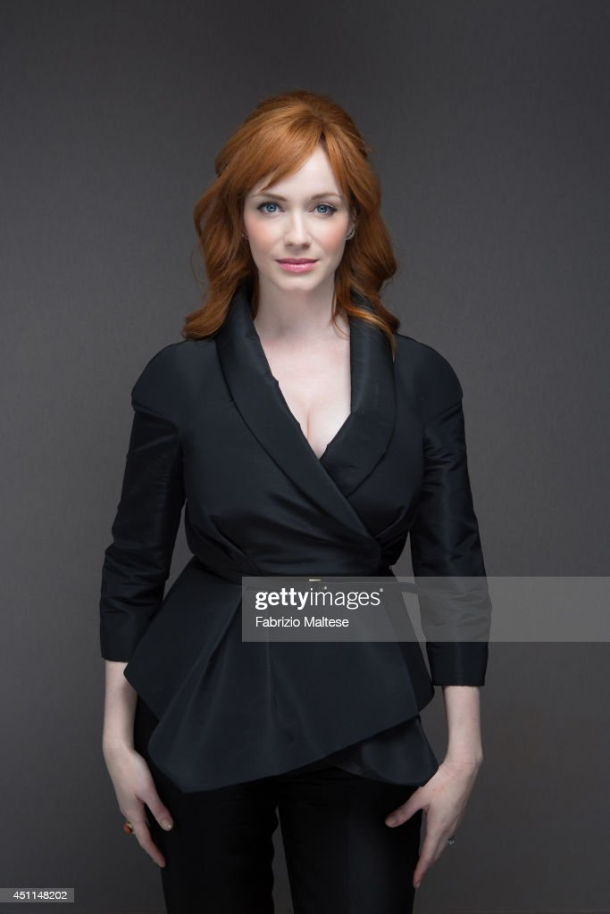 Christina Hendricks, Self assignment, May 20, 2014