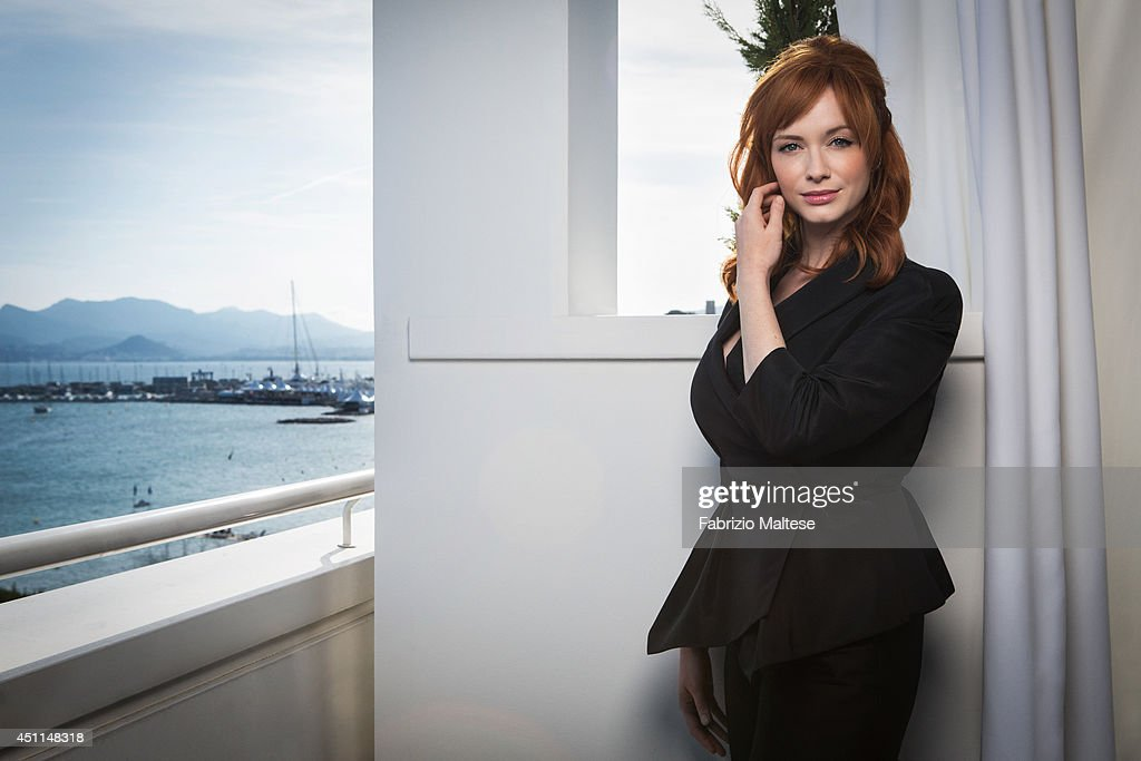 Actor Christina Hendricks is photographed for the Hollywood Reporter in Cannes, France.