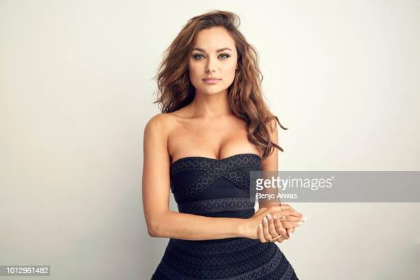 Actor Christina Ochoa of ABC's 'A Million Little Things' poses for a portrait during the 2018 Summer Television Critics Association Press Tour at The...