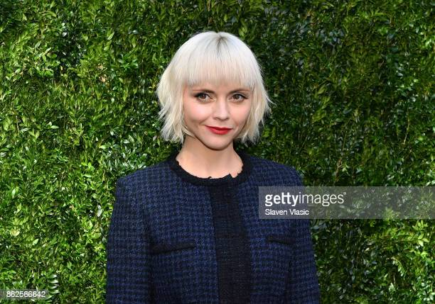 Actor Christina Ricci attends Through Her Lens: The Tribeca Chanel Women's Filmmaker Program Luncheon at Locanda Verde on October 17, 2017 in New...