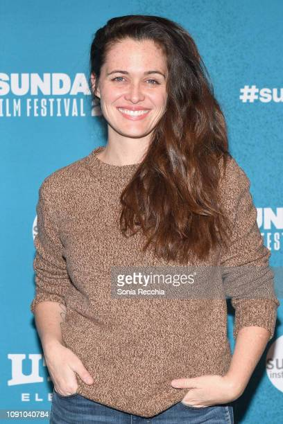 Actor Christine Woods of Maggie attends 2019 Sundance Film Festival at Prospector Square Theatre on January 29 2019 in Park City Utah