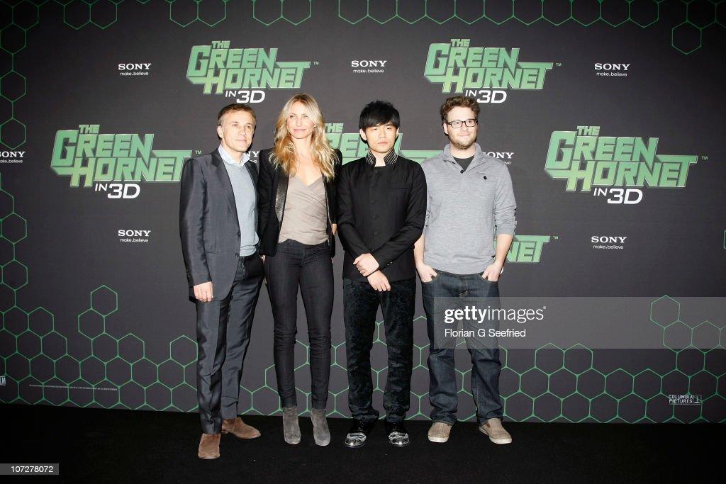 The Green Hornet Photocall