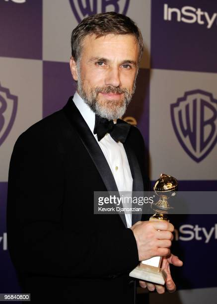 Actor Christoph Waltz arrives at the InStyle and Warner Bros 67th Annual Golden Globes after party held at the Oasis Courtyard at The Beverly Hilton...