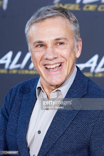 Actor Christoph Waltz attends 'Alita: Angel De Combate' photocall at the Villamagna Hotel on January 25, 2019 in Madrid, Spain.