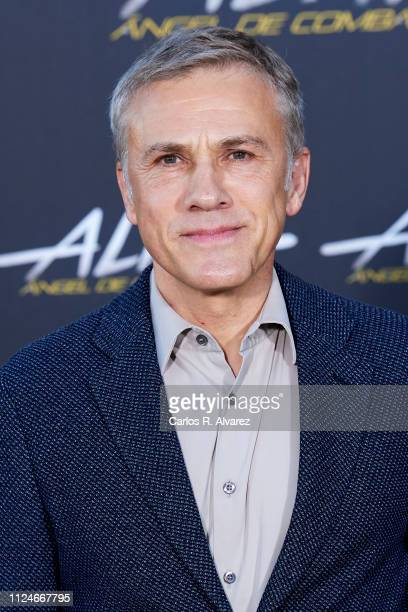 Actor Christoph Waltz attends 'Alita Angel De Combate' photocall at the Villamagna Hotel on January 25 2019 in Madrid Spain