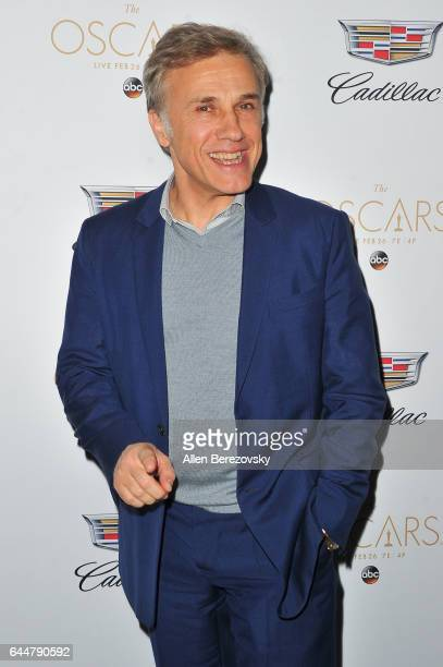 Actor Christoph Waltz attends Cadillac's 89th annual Academy Awards celebration at Chateau Marmont on February 23 2017 in Los Angeles California