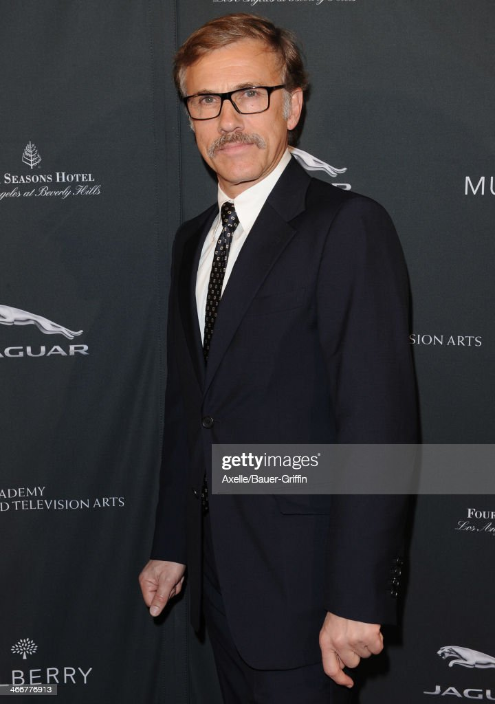 Actor Christoph Waltz attends the BAFTA LA 2014 Awards Season Tea Party at Four Seasons Hotel Los Angeles in Beverly Hills on January 11, 2014 in Beverly Hills, California.