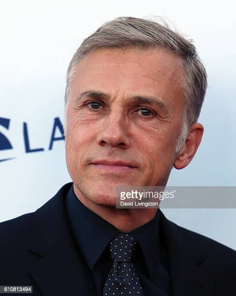 Actor Christoph Waltz attends the Los Angeles Philharmonic 2016/17 Opening Night Gala Gershwin and the Jazz Age at Walt Disney Concert Hall on...