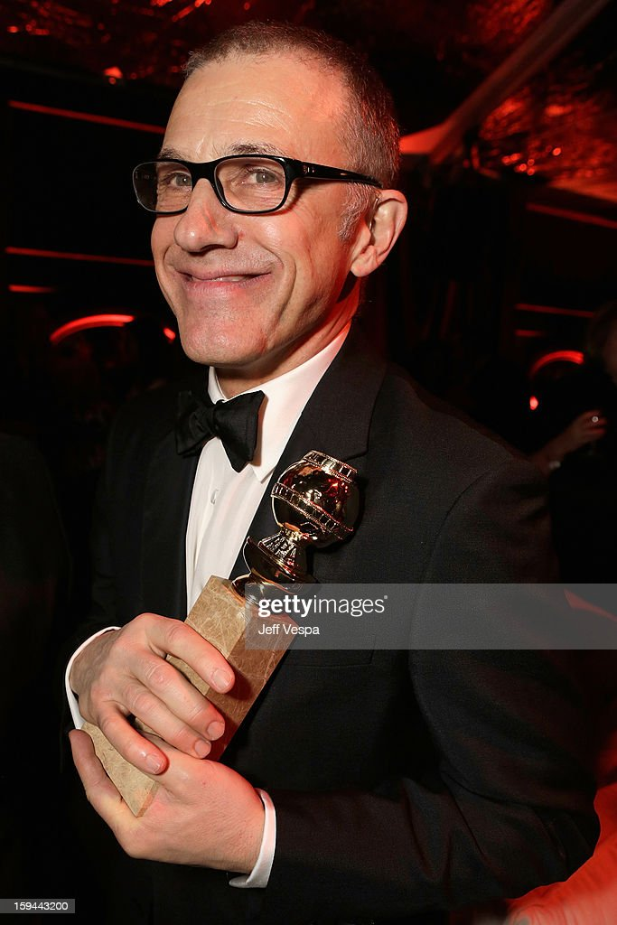 Actor Christoph Waltz attends the The Weinstein Company's 2013 Golden Globe Awards after party presented by Chopard, HP, Laura Mercier, Lexus, Marie Claire, and Yucaipa Films held at The Old Trader Vic's at The Beverly Hilton Hotel on January 13, 2013 in Beverly Hills, California.