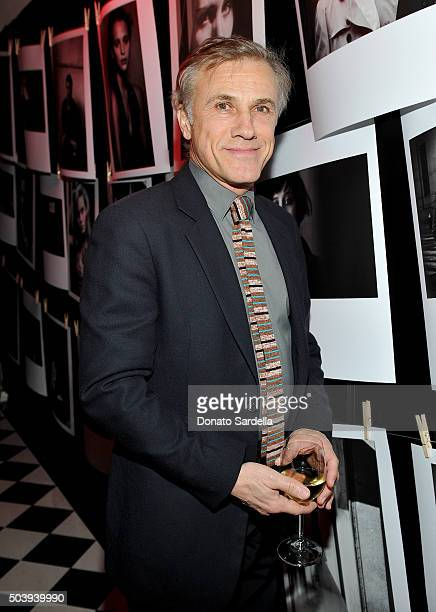 Actor Christoph Waltz attends the W Magazine celebration of the 'Best Performances' Portfolio and The Golden Globes with Audi and Dom Perignon at...