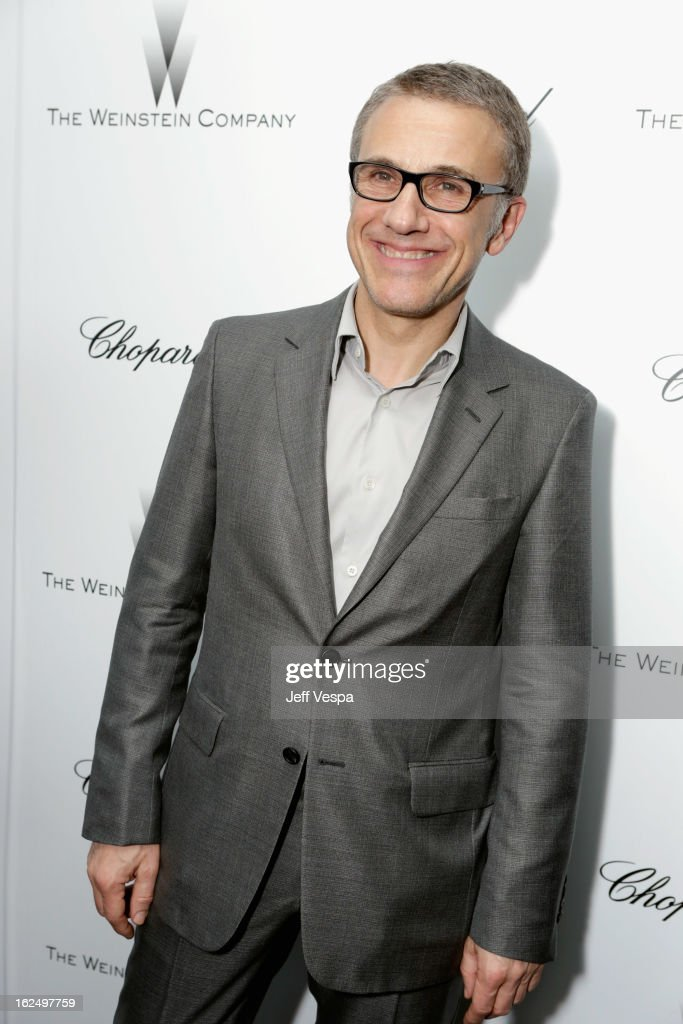 Actor Christoph Waltz attends The Weinstein Company Academy Award Party hosted by Chopard at Soho House on February 23, 2013 in West Hollywood, California.